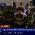 Nueve detenidos por muerte de Ezequiel Nolasco ya están en la Dirincri