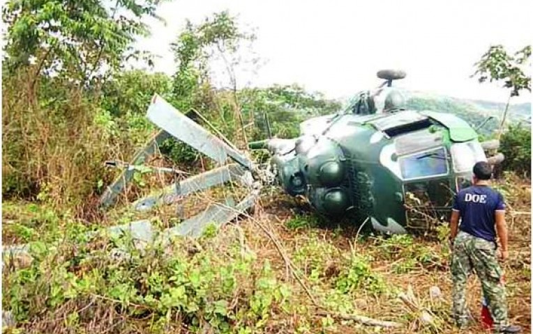 Helicóptero del Ejército caído en el Vraem habría tenido motor fallado | Peru