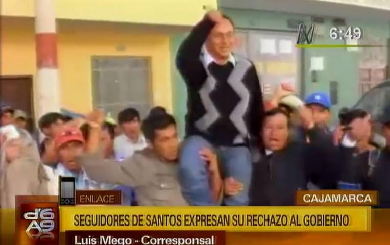 Cajamarca: partido de Gregorio Santos intensificó campaña para su reelección | Peru