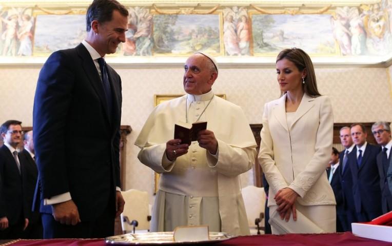 Reyes de España visitaron al papa Francisco en su primer viaje al extranjero | Internacionales