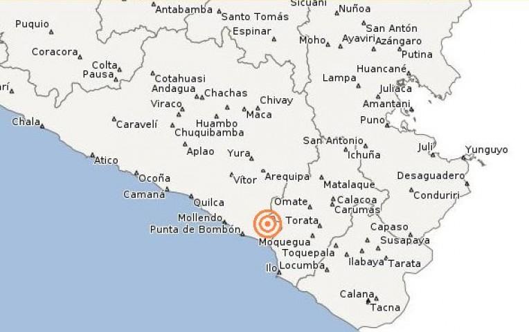 Temblor de 4,6 grados remeció hoy Arequipa | Actualidad