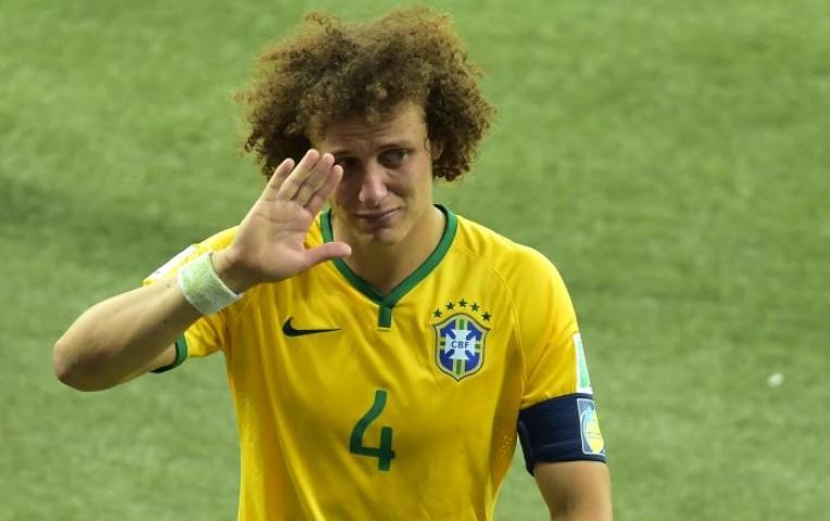 David Luiz se disculpó entre lágrimas por goleada ante Alemania   Deportes