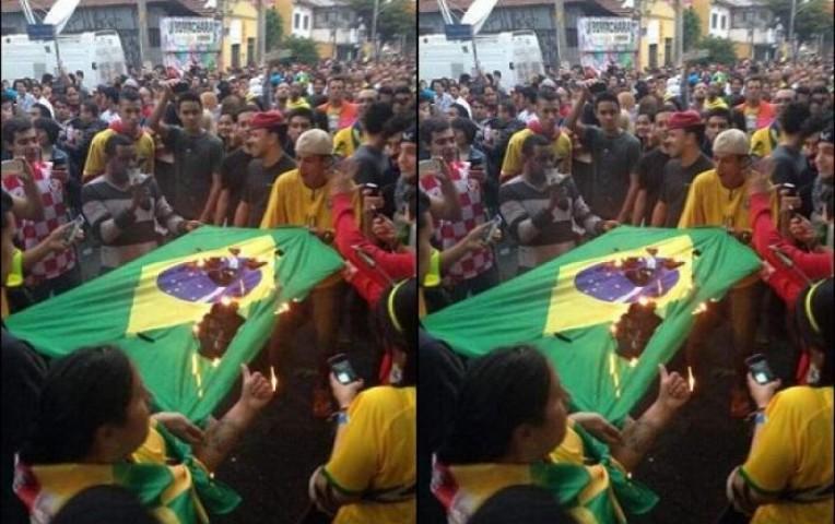 Brasil 2014: hinchas queman autobuses y saquean tiendas en Sao Paulo tras goleada  | Internacionales
