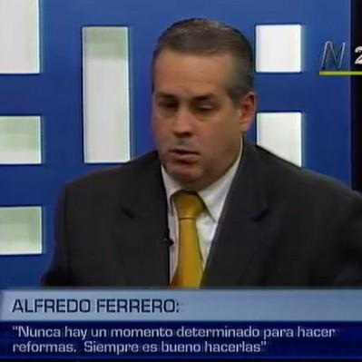 Alfredo Ferrero: El Gobierno desaprovechó bonanza para impulsar reformas