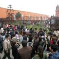 Alrededor de 120 policías resguardan la seguridad del convento de Santa Rosa de Lima