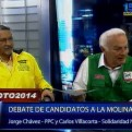 Voto 2014: Jorge Chávez y Carlos Villacorta exponen sus propuestas para La Molina