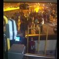 Usuarios del Metropolitano tomaron pista de la Estación Naranjal