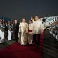 Papa Francisco llegó a Filipinas