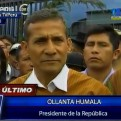 Humala: Respuesta de Chile sobre presunto espionaje no satisface al Perú