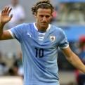 Diego Forlán anunció su adiós de la selección uruguaya
