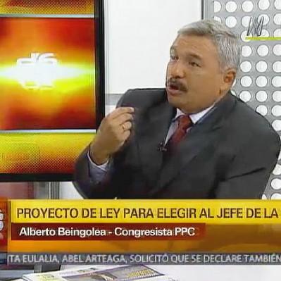 Beingolea: Es necesario que los peruanos sepamos quién es el jefe de la DINI
