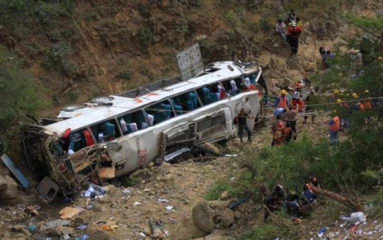 Amazonas: 3 muertos y 20 heridos tras despiste de bus | Peru