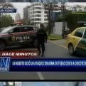 Un muerto dejó ataque con arma de fuego a taxi en San Isidro