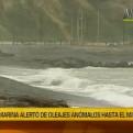 Marina: hasta el 13 de mayo se presentarán oleajes anómalos