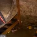 VES: casas inundadas por rotura de troncal de desagüe