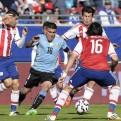 Copa América: Uruguay y Paraguay empataron y están en cuartos de final