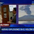 Arequipa: Nuevas explosiones en el volcán Ubinas