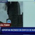Incendio en rascacielos en pleno centro de Nueva York dejó un herido