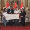 Humala estrechó la mano de Francisco Boza tras el escándalo Belaúnde Lossio
