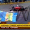Dos muertos en accidente de tránsito en Panamericana sur