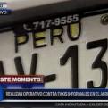 Callao: realizan operativo de fiscalización a taxis informales en el aeropuerto