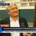 Virgilio Acuña evitó declarar luego de saber que Rondón presidirá Fiscalización