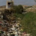 Chiclayo: basura acumulada en la acequia Pulén