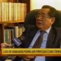 Mario Amoretti: Uso de explosivos en delitos comunes sí es terrorismo