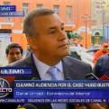 Urresti: Confío en la palabra Humala que negó aportes de Odebrecht