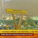 Congreso aprobó que Ventanilla sea declarada provincia
