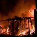 Chincha: incendio consumió 200 puestos de un mercado