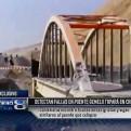 Chincha: detectan fallas en el puente gemelo Topará