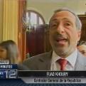 Fuad Khoury: La Contraloría necesita mayor empoderamiento para investigar
