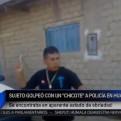 Huarmey: sujeto agredió a un policía con un chicote