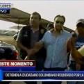 Miraflores: capturan a colombiano presunto cabecilla de una banda criminal