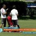 Luis Advíncula realizó su primera práctica con Newell's Old Boys