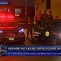 Callao: delincuentes hirieron de bala a ingeniero que se resistió a asalto