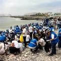 Realizaron campaña para limpiar la playa Carpayo, la más sucia de Latinoamérica