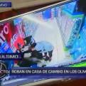 Los Olivos: delincuentes se llevan 115 mil soles de casa de cambio