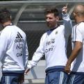Lionel Messi entrenó con normalidad y apunta a volver ante Panamá
