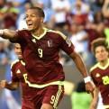Venezuela venció 1-0 a Uruguay con gol de Rondón por la Copa América