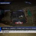 Ventanilla: camioneta impactó contra vivienda