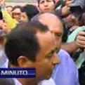 Gregorio Santos salió del penal de Piedras Gordas