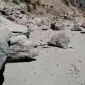 Yamila Osorio: rocas bloquean el ingreso al Colca por Chivay