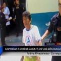 Chiclayo: capturan a otro sujeto que integraba la lista de los más buscados