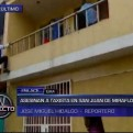 San Juan de Miraflores: asesinato de taxista provocó enfrentamientos con fiscal