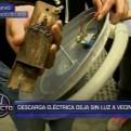 Cercado de Lima: vecinos acusan a Edelnor por descargas eléctricas