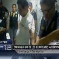 Los más buscados: capturan a sujeto acusado de homicidio en Tumbes