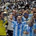 Argentina se coronó campeón por primera vez del Mundial de Futsal
