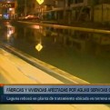 Lurín: aniego afecta viviendas tras rebalse de laguna residual